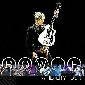 DAVID BOWIE Reality Live Tour CD Free Shipp From japan