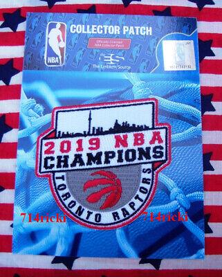 Official 2019 NBA Finals Champions Toronto Raptors Collectible Patch