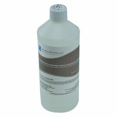 Carburettor Machine Parts Ultrasonic Cleaning Fluid 1L Engine Cleaner Solution