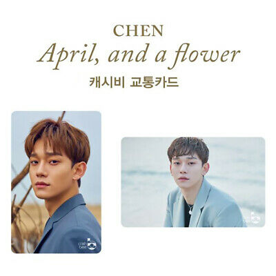 SM Town Artist EXO x 7-Eleven Goods : Chen [April and a Flower] Cashbee Card