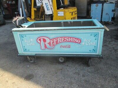 """Self Propelled Motorized Beverage Vending Cart Concession Stand 72"""" x 30"""""""