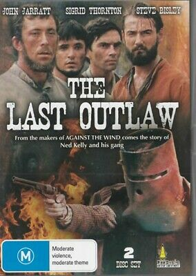 The Last Outlaw - The Story Of Ned Kelly - New & Sealed Dvd - 2 Disc Set!