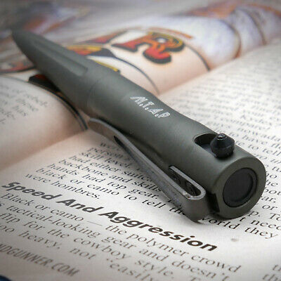 Coolhand Bolt Action Tactical Pen Compact Size Grey Finish Aluminum 5368-GY