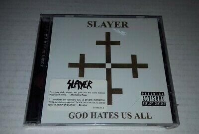Slayer GOD HATES US ALL CD American AUTHENTIC Original Sept 11, 2001 release USA