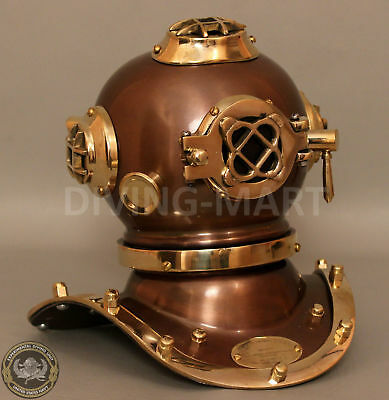 Antique US Navy Mark V Scuba Diver Helmet Diving Helmet Replica Deep Sea Divers