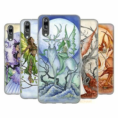 Official Amy Brown Elemental Fairies Soft Gel Case For Huawei Phones