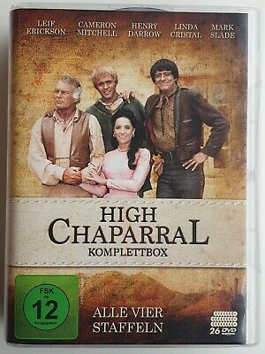 High Chaparral - Komplettbox / Gesamtedition: Alle vier Staffeln [26 DVDs]W.NEU
