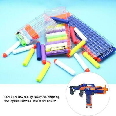 6/12/18 Reload Clip Magazine Darts Replacement Toy Gun Soft Bullet Clip For Nerf