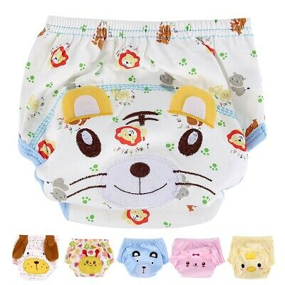 Baby Cotton One Size Cloth Diaper Reusable Nappy Cover Newborn Adjustable
