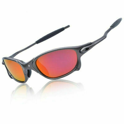 X-Metal Juliet Cyclops Sunglasses Ruby Polarized Lenses titanium Goggles 6 Color