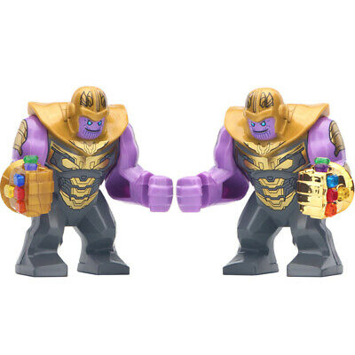 Thanos & Infinity Gauntlet - Marvel Lego Moc Minifigure Gift For Kids Collection