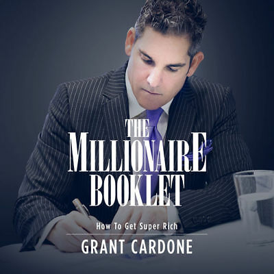 The Millionaire Booklet How to Get Super Rich by Grant Cardone - PDF Book