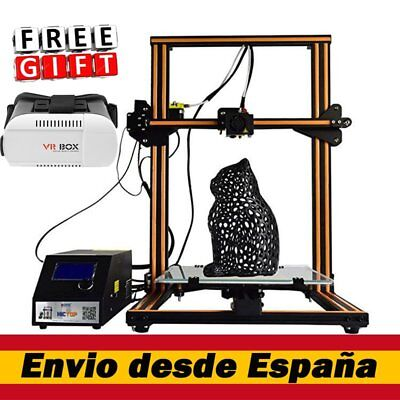 CR-10 3D Impresora Printer Prusa I3 Upgrade 2*Z axis T Screw Rods 300x300x400mm