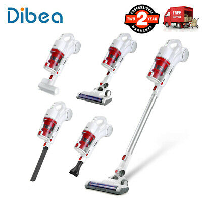 Cordless 2 In 1 Hand-Held Stick Vacuum Cleaner 17000Pa Floor Carpet Car Cleaning