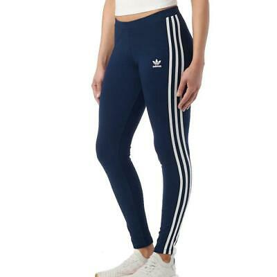 22244fa029484 Adidas Originals 3 Stripes Leggings -Size Uk 6-22 Black- Bnwt 430 + Sold!