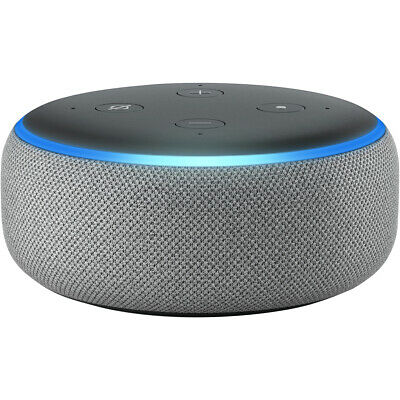 Amazon Echo Dot (3rd Gen) Smart Speaker With Alexa Grey