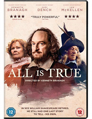 All Is True DVD NEW