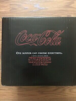 New Coke Stranger Things 1985 Limited Edition Collector's Set Coca Cola Season 3