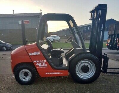 MANITOU MSI30D SEMI ROUGH TERRAIN DIESEL FORKLIFT Purchase from only £54.91 pw