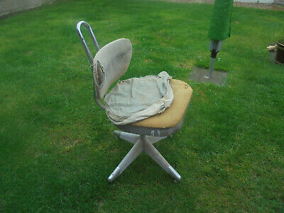 WEM industrial swivel secratary chair 1940 50 60's  typist retro  needs a refurb