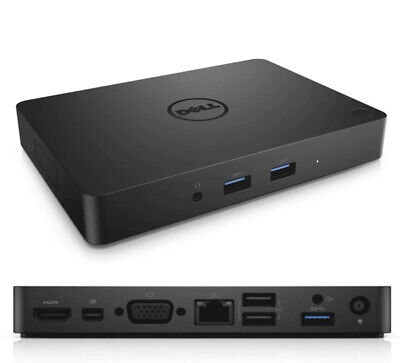 Brand New Dell Business Dock - WD15 with 180W adapter, USB-C, VGA, HDMI, Mini DP