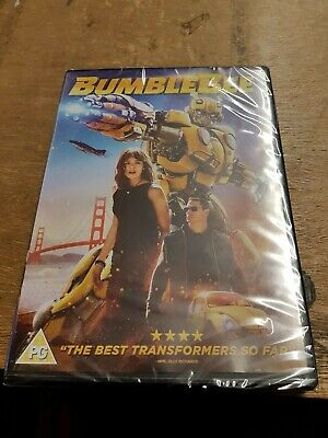 Bumblebee DVD 2019 Brand New and Sealed Genuine UK Region 2 Transformersp