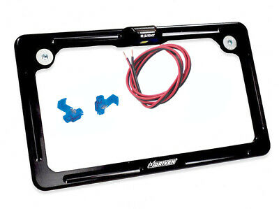 Driven Aluminum LED License Plate Frame Black (DFLPWL-01)