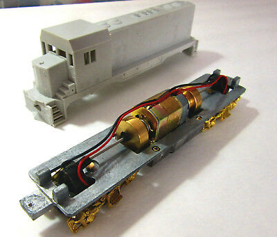 HO Scale Cary Locomotive Works #245 Feed Water Heater Pilot Mount 4pc set