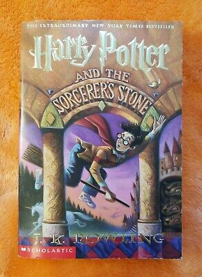 Harry Potter and the Sorcerer's Stone (J.K. Rowling) Paperback Book