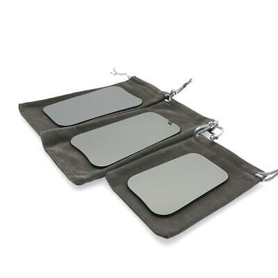Dental Photographic Mirror Intra-Oral Orthodontic Glass 2-sided Rhodium Reflect