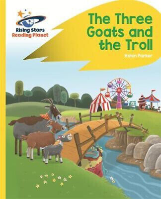 NEW Reading Planet - The Three Goats and the Troll - Yellow By Alison Milford