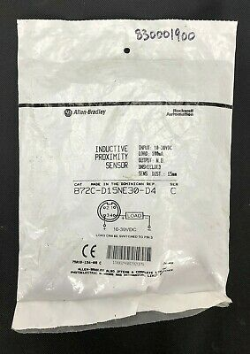 New SEALED Allen Bradley 872C-D15NE30-D4 /C Inductive Proximity Sensor WARRANTY