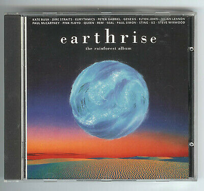 CD EARTHRISE THE RAINFOREST ALBUM UK Press McCartney Lennon Elton John Queen REM