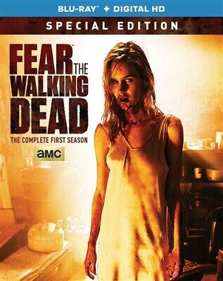 FEAR THE WALKING DEAD COMPLETE FIRST SEASON 1 New Blu-ray Special Edition