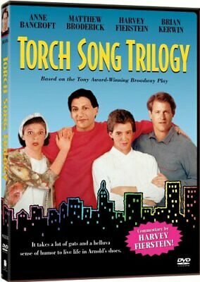 TORCH SONG TRILOGY New Sealed DVD Anne Bancroft