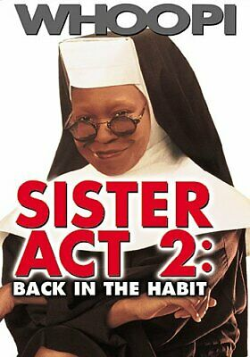 SISTER ACT 2 BACK IN THE HABIT New Sealed DVD Whoopi Goldberg