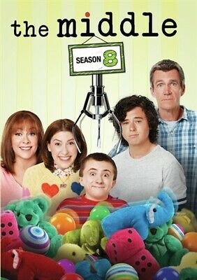 THE MIDDLE TV SERIES COMPLETE SEASON 8 New Sealed 3 DVD Set