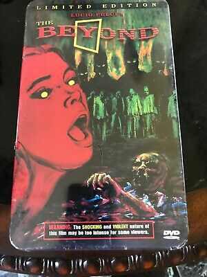 The Beyond (1981) - Grindhouse Releasing Deluxe Edition 2-Disc Blu-Ray + Cd -New