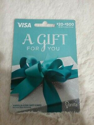 $100 (Vanilla) Activated, Non-reloadable, Ready to Use Gift Card SEE MY FEEDBACK