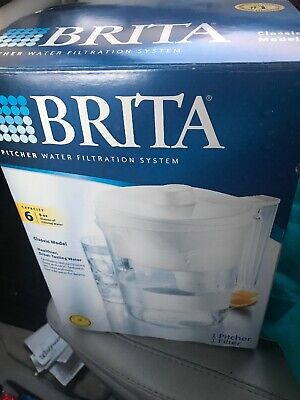 BRITA PITCHER WATER Filtration System 6 cup capacity