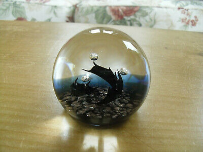 "Limited Edition Caithness ""Three Witches"" Paperweight Colin Terris(37/500) - <3"""