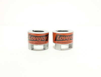 2x Lovejoy 68514411522 L100 Jaw Coupling 1-3/8in