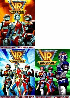 VR TROOPERS COMPLETE SEASON 1 + SEASON 2 / VOLUME 1 New DVD 72 Episodes