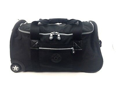 a3cc7f7c2b KIPLING DISCOVER LARGE Wheeled Luggage Duffle Very Berry Bag On ...