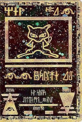 Carte Pokemon Ultra Rare Mew Antique Version Francaise Promo Neuve Sous Blister