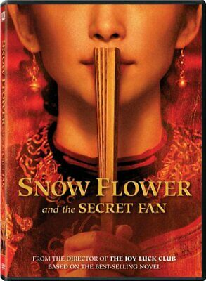 SNOW FLOWER AND THE SECRET FAN New Sealed DVD