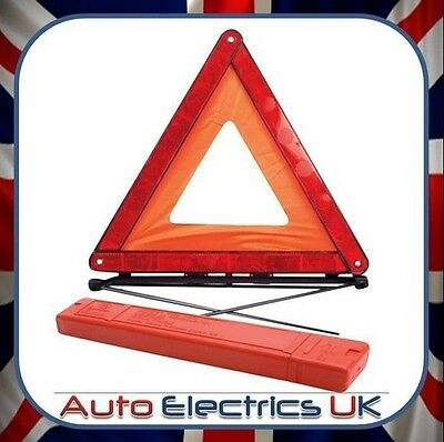 UK Grand Warning Voiture Triangle Réflecteur Route Situation Urgence Protection