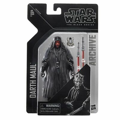 SHIPS JUNE 21! NEW Star Wars The Black Series Archive Darth Maul 6-Inch AF