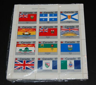 Canada discount postage / wholesale lot of 17c Flag sheets face $102 MNH @ 67.5%