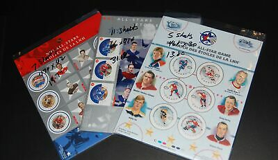 Canada discount postage lot of NHL Hockey mini-sheets face $65 @ 70%